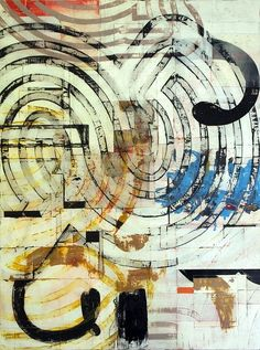 Harold Hollingsworth jägerklause - mixed media on canvas - 30x40 - 2012
