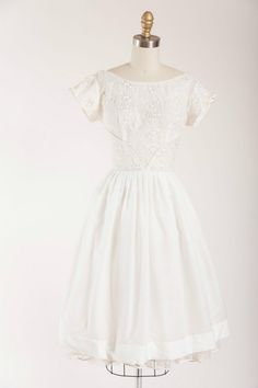 Smitten Hearts Dress 1950s vintage