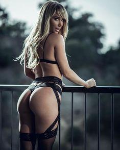 29 sexy blonde girl sara jean underwood sexy black lingerie hot butt dgsju 721x901