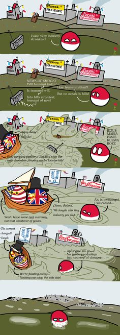 Capitalism in a Nutshell ( Poland, UK, USA ) by mO4GV9eywMPMw3Xr #polandball #countryball