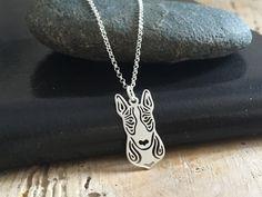 Bullterrier naszyjnik srebrny  - LuxoroDesign - Naszyjniki srebrne