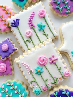 I Bake, You Bake — Springtime Sugar Cookies