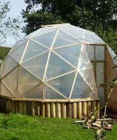 You want a greenhouse in your garden? Why not build your own biodome