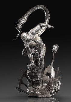 CGTalk - - Scorpion - Spiderman Villian, David Molina (3D)