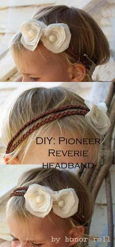 Ruffles and Roses: Pioneer Reverie Headband Tutorial - Guest Post! Ruffles and Roses: Pioneer Reverie Headband Tutorial - Guest Post! Baby Headband Tutorial, Diy Headband, Baby Headbands, Headband Flowers, Diy Flowers, Fabric Flowers, Chiffon Flowers, White Flowers, Diy Hairstyles