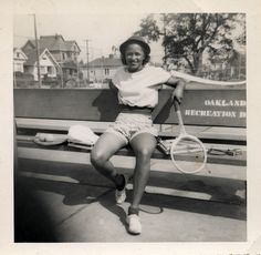 Tennis Anyone? Oakland, CA, 1950's [Donated by the Earl McCann Collection] ©WaheedPhotoArchive, 2011