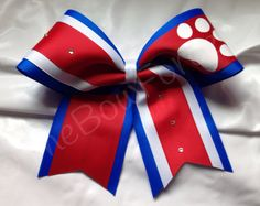 Cheer Bow 3  by TheBowForce on Etsy