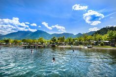 Chill out at Camping Lago di Levico, Levico Terme, Trento - Pitchup.com