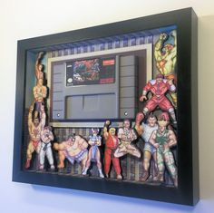 I made this Street Fighter II shadow box cartridge holder http://ift.tt/2e0DUua