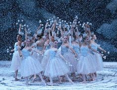 Bean was a snowflake in this years Nutcracker, All Jazzed Up production. Though, her costume looked nothing like this one!