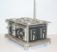 bricolage maison de poupées miniatures support /& accessoires Noir de perles porte knocker