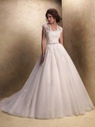 Just strapless    Maggie Sottero Wedding Dresses - Style Windsor 19823