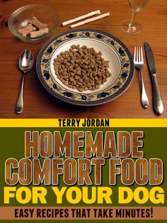 Easy recipes to make for your dogs.