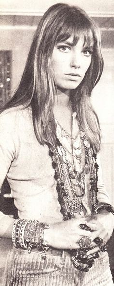 Jane Birkin in all her jewels #banditbabe #banditswag