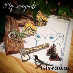 #Repost @by_wayside  Giveaway!  inspired by the wilderness and to celebrate our awesome 900 followers! This includes our little axe pin fire pin second fire pin postcard 3 x rspb wildlife pins fire starter steel and fat wood fuel! To enter 1) follow @by_wayside 2) share this pic 3) tag @by_wayside and add #wayside900 so we can find your entry! Instagram giveaway. Fair players only please. http://ift.tt/2a8wF3m #giveaway #competition #celebrate #pins #pingame #pinstagram #wildernessculture…