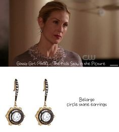 From the Valley to the Upper East Side: Lily Van der Woodsen's Style Cross-Over – The Kids Stay in the Picture) Stone Earrings, Women's Earrings, Silver Earrings, New York Socialites, Kelly Rutherford, Mirror Jewelry Armoire, Upper East Side, Blake Lively, Sea Glass Jewelry