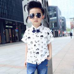 Camisa Infantil  Oxford White