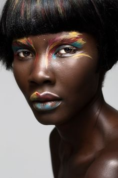 Colour pop - bright beauty looks for A/W'17  