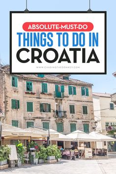 Travel Croatia: A Massive List of Top Things to do in Croatia. This list of Croatia vacation must-do will help you plan like a local.