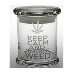 This is a truly airtight stash jar, decorated just for you - every time you order!    Engraving will never change in appearance - the design is