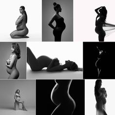 NYC Maternity Photography by Lola Melani. Artistic pregnancy portraits, b&w maternity silhouettes, NYC, NY maternity and newborn photography, maternity session ideas and posing, Fine-art pregnancy photos