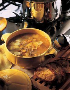 Le chef pierre d 39 iberville banana lemon bread no milk products cooking for fun queue de - Consomme de boeuf maison ...