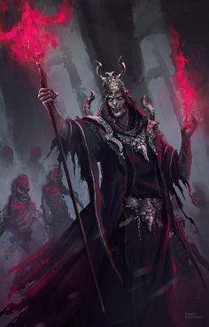 "adedrizils-shrine: "" Necromancer by hounworks """