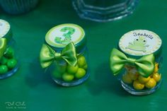 Frog themed party with So Many Cute Ideas via Kara's Party Ideas | Full of decorating ideas, cake, cupcakes, favors, games...