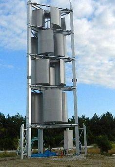 トルネード型風力発電機(10KW級)