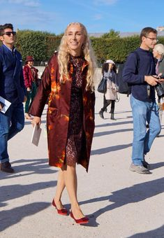 Franca Sozzani's style resides at the intersection of cool and chic.