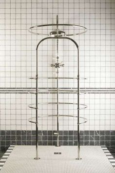 Revamped 19th-Century Showers