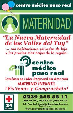 Volante Centro Médico Paso Real Maternidad.
