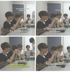 Youngjae struggling with English... Awww he is so freaking adorable <3