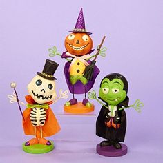 """7.25"""" Creepy Skeleton with Top Hat Halloween Table Top Figure Decoration (PACK OF 2) >>> Read more reviews of the product by visiting the link on the image. (This is an affiliate link) #SeasonalDcor"""