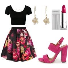 Felicity Smoak by sarahsassafras13 on Polyvore featuring Ted Baker and Lipstick Queen