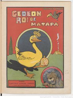Gédéon roi de Matapa / Benjamin Rabier, 1932. Librairie Garnier Frères, Paris