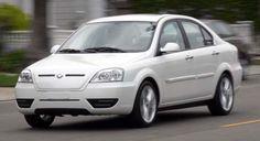 Coda white sedan 2011 model