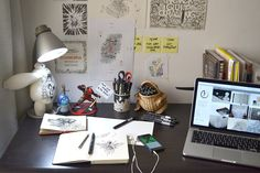 Where Kerby Rosanes sketches
