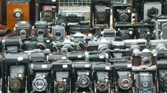 like most people, i just love cameras. I also like that what captures art has been made into art.