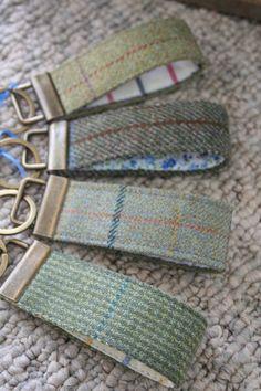 Tweed Keyring £8.50