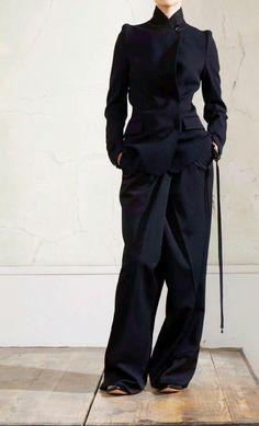 maison martin margiela for h & m via @andreupopov Fashion Fantasy - Darkness                                                                                                                                                     More