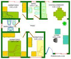 plano06.gif (665×558) Bar Chart, Porch, Floor Plans, Diagram, Design, Prefab Homes, Home Plans, Plants, Balcony