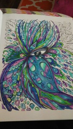 Fanciful faces from creative haven adult coloring books pages. Coloring Book Art, Adult Coloring Book Pages, Doodle Coloring, Colouring Pages, Pencil Drawings, Art Drawings, Art Projects For Adults, Pineapple Images, Thing 1