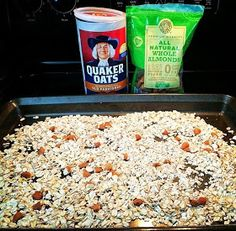 I love granola bars- but now that I've started reading nutrition labels and eating clean, I don't really love what they are made out of. 21 Day Fix Breakfast, Healthy Breakfast Snacks, Healthy Meals, Healthy Eating, Healthy Recipes, 21 Day Fix Challenge, 21 Day Fix Plan, Challenge Group, 21 Day Fix Recipies