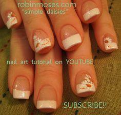 """Nail-art by Robin Moses: """"goddess nails"""" """"greek goddess nails"""" """"simple daisy nail art"""" """"rasta nail art"""" """"weed nail art"""" """"mary jane nail art""""..."""