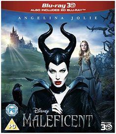 Maleficent (3D & 2D) [ Blu-Ray, Reg.A/B/C Import - United Kingdom ] Disney