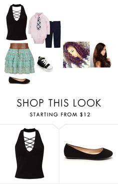 """""""Me and son going to dinner with nastajja and jess"""" by anoai ❤ liked on Polyvore featuring Miss Selfridge, Carter's and Converse"""