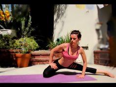Vinyasa yoga flexibility power Hatha interval Class Advanced Intermediate - YouTube