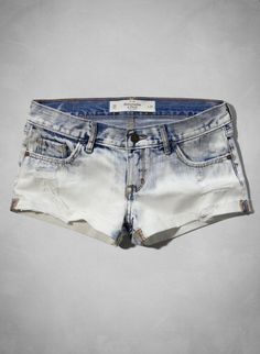 Abercrombie Low Rise Short-Shorts