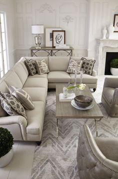 Marquesa Palazzo Signature Seating Living Room | Bernhardt
